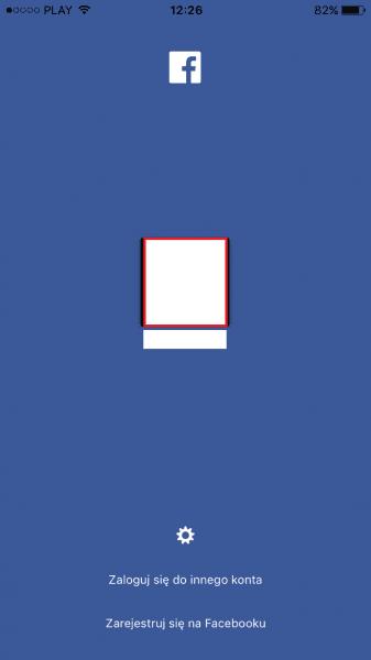 logowanie na fb