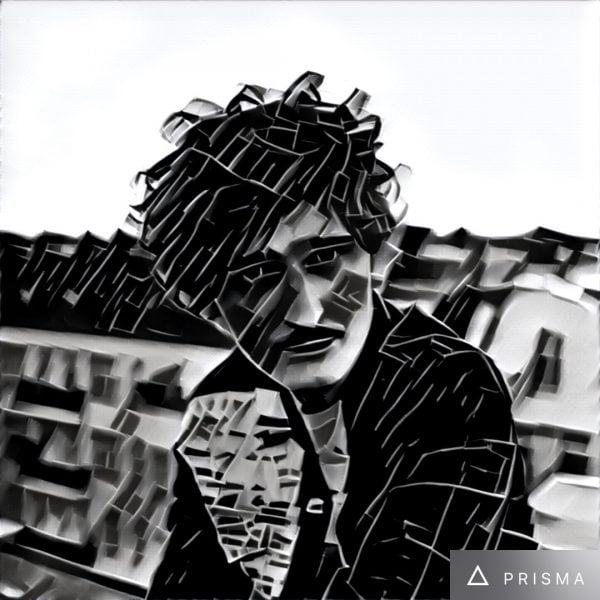 """Wystarczy filtr """"Urban"""" i od razu Dawid Podsiadło staje się bardziej trójkątowo-kwadratowy..."""
