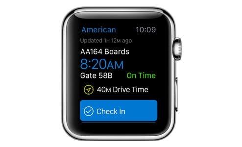 apple watch applefix serwis poradnik appstore app store american airlines