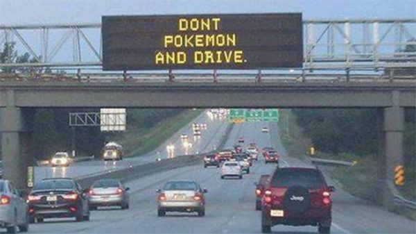 """""""Don't snap while driving"""" już zdążyło się zdezaktualizować..."""